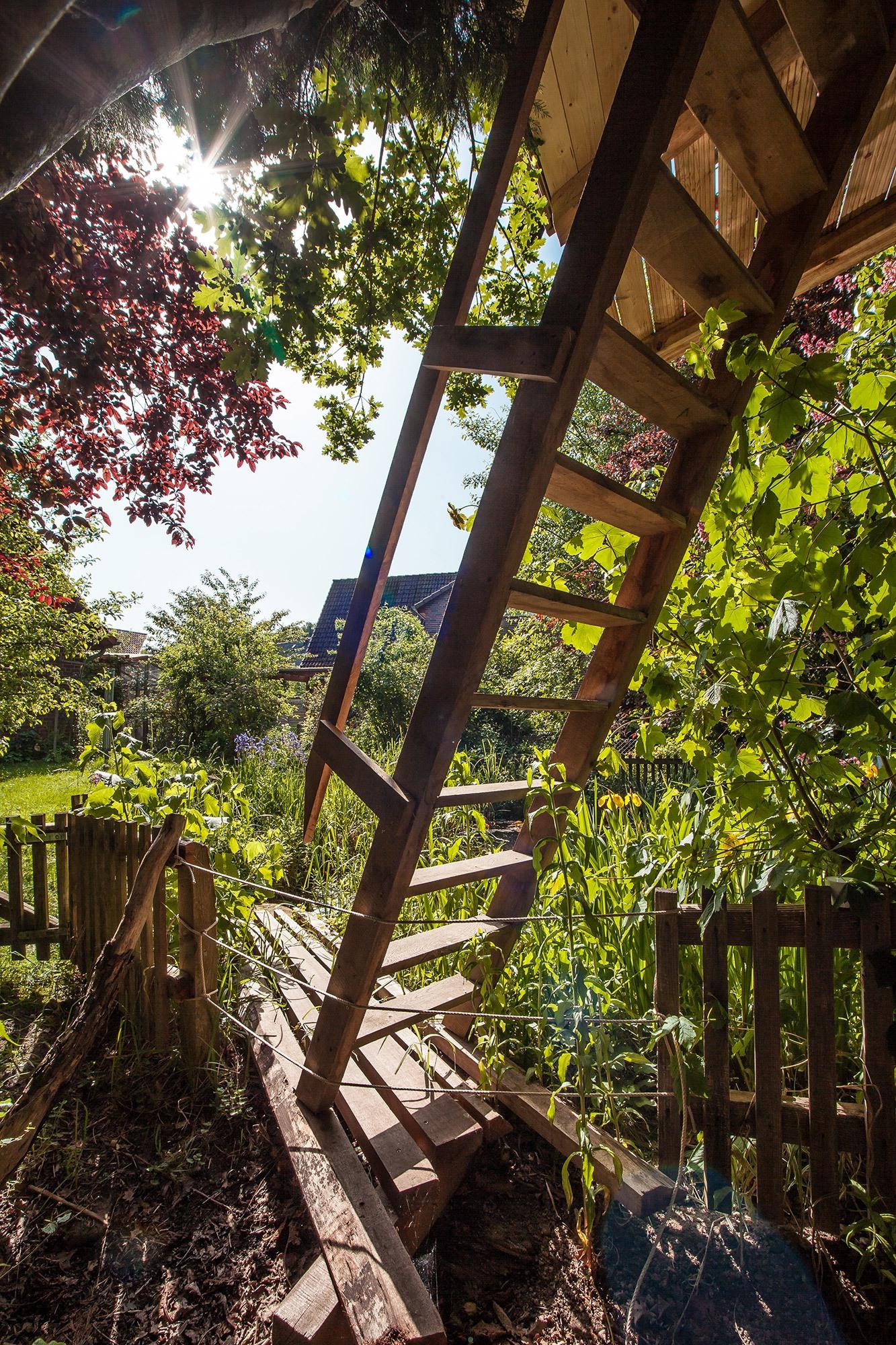Baumhaus fr garten simple fr kinder ist ein baumhaus die erfllung eines traumes bilder baumhaus - Baumhaus garten ...